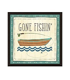 Greenleaf Art Done Fishin Framed Canvas Art