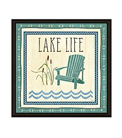 Greenleaf Art Lake Items Framed Canvas Art