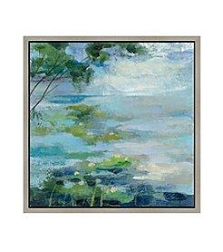 Greenleaf Art Lake Border I Framed Canvas Art