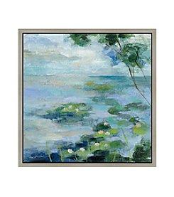 Greenleaf Art Lake Border II Framed Canvas Art