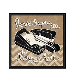 Greenleaf Art Keep Together Framed Canvas Art