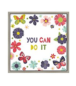 Greenleaf Art You Can Do It Framed Canvas Art