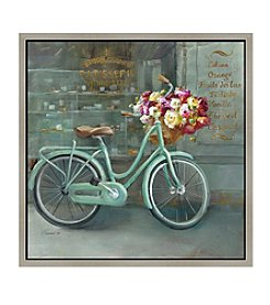 Greenleaf Art Vintage Store Bicycle Framed Canvas Art