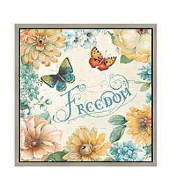 Greenleaf Art Freedom Framed Canvas Art