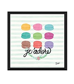 Greenleaf Art Je'adore Framed Canvas Art