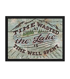 Greenleaf Art Time Well Spent Framed Canvas Art