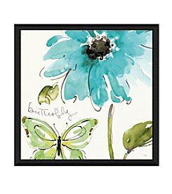 Greenleaf Art Blutterfly Framed Canvas Art