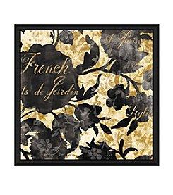 Greenleaf Art French Garden Framed Canvas Art
