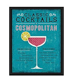Greenleaf Art Cosmopolitan Cocktail Framed Canvas Art