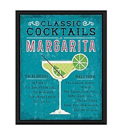Greenleaf Art Margarita Cocktail Framed Canvas Art