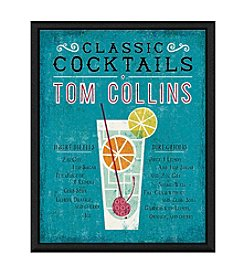 Greenleaf Art Tom Collins Cocktail Framed Canvas Art
