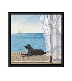 Greenleaf Art Porch View II Framed Canvas Art