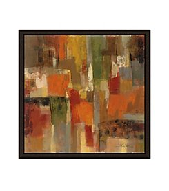Greenleaf Art Dark Brown Framed Canvas Art