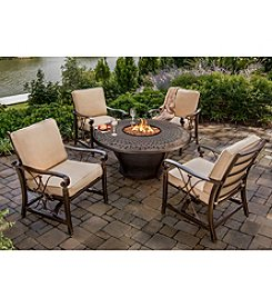 Agio Seville 6-pc. Outdoor Dining Set