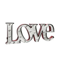 Metal Marquee Love Sign