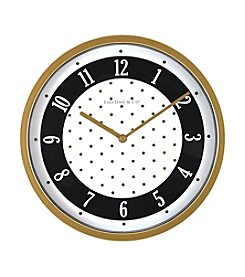 FirsTime Gold Dots Wall Clock