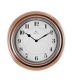 FirsTime Rose Goldtone Wall Clock