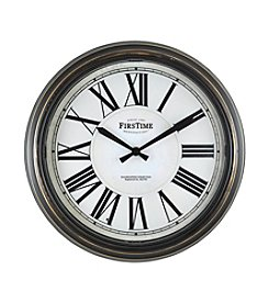 FirsTime LED Clock Tower Wall Clock
