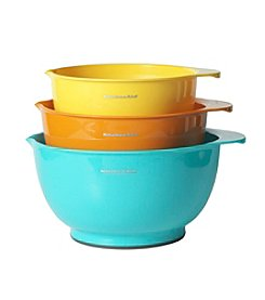 KitchenAid® 3-Pc. Mixing Bowls