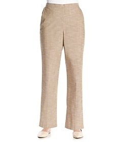 Alfred Dunner® African Safari Solid Short Pants