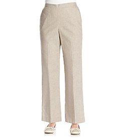 Alfred Dunner® African Safari Pinstripe Short Pants