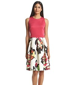 Gabby Skye® Floral Skirt Dress