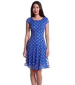 Madison Leigh® Burnout Polka Dot Dress