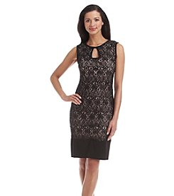 R&M Richards® Lace Sheath Dress