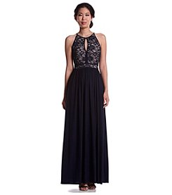NW Collections Lace Bodice Dress