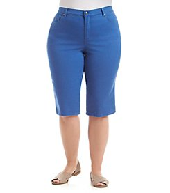 Gloria Vanderbilt® Plus Size Amanda Embellished Skimmer