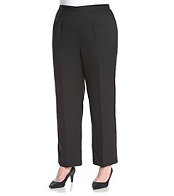 Alfred Dunner® Plus Size Port Antonio Solid Short Pants
