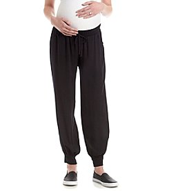 Three Seasons Maternity™ Under Belly Banded Bottom Solid Pant