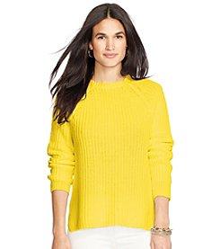 Lauren Ralph Lauren® Solid Raglan Sweater