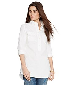Lauren Jeans Co.® Cotton Poplin Tunic