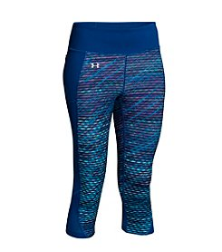Under Armour® Fly-By Printed Run Capri