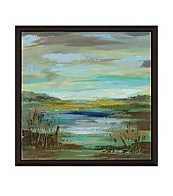 Greenleaf Art Blue Lake I Framed Canvas Art