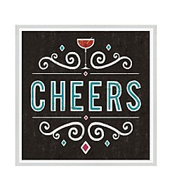 Greenleaf Art Cheers Framed Canvas Art
