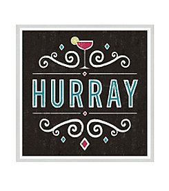 Greenleaf Art Hurray Framed Canvas Art