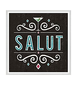 Greenleaf Art Salut Framed Canvas Art