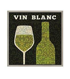 Greenleaf Art Vin Blanc Framed Canvas Art