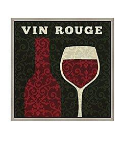 Greenleaf Art Vin Rouge Framed Canvas Art