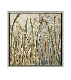 Greenleaf Art Leaves Framed Canvas Art