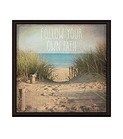 Greenleaf Art Your Own Path Framed Canvas Art