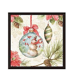 Greenleaf Art Christmas Frozen Framed Canvas Art