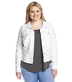 Jessica Simpson Plus Size Pixie Denim Jacket