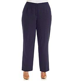 Kasper® Plus Size Solid Kate Pants