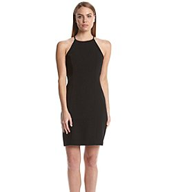 Calvin Klein Halterneck Sheath Dress