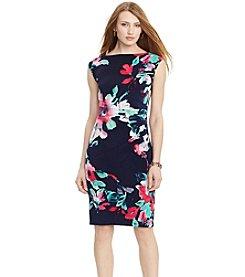 Lauren Ralph Lauren® Floral-Print Jersey Dress