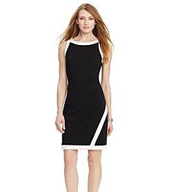 Lauren Ralph Lauren® Two-Toned Ponte Dress