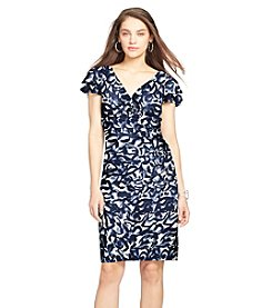 Lauren Ralph Lauren® Patterned Matte Jersey Dress